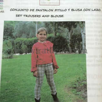 PATRON CONJUNTO BLUSA Y PANTALON