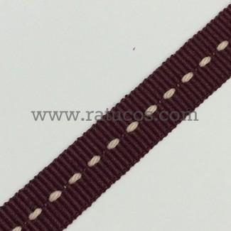 CINTA GROSGRAIN PESPUNTE 10 mm, COLORES