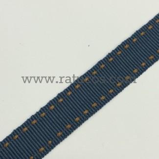 CINTA GROSGRAIN PESPUNTE 1.5 cm, COLORES