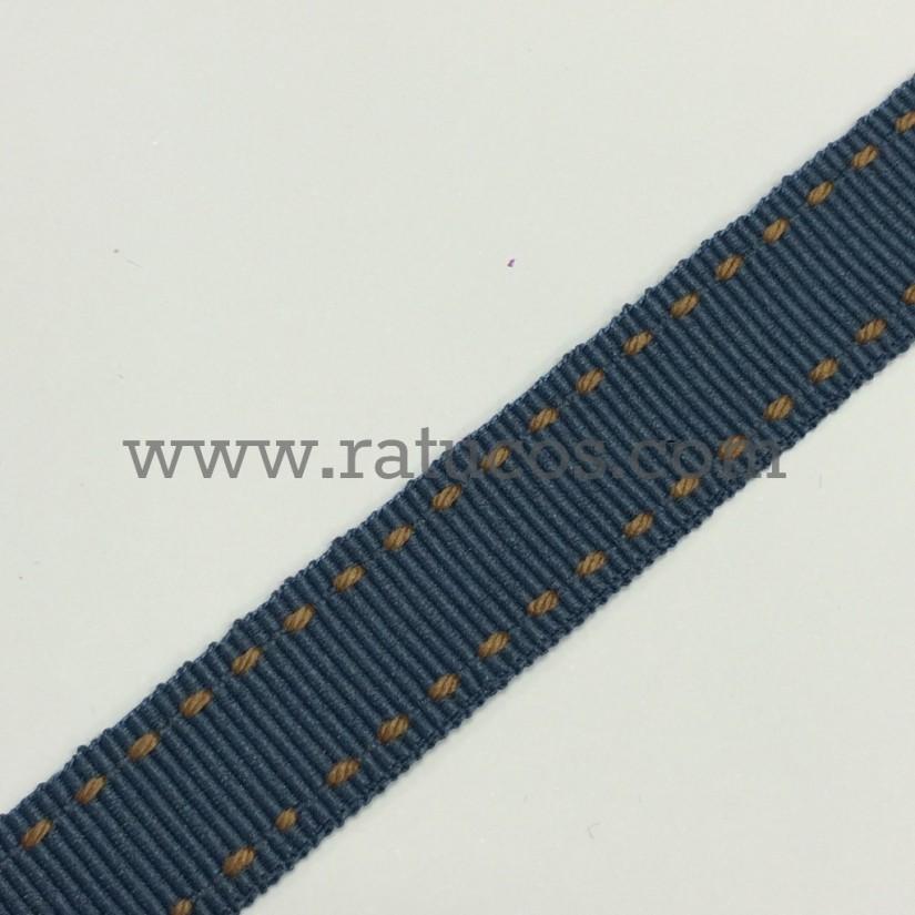 CINTA GROSGRAIN PESPUNTE 15 mm, COLORES