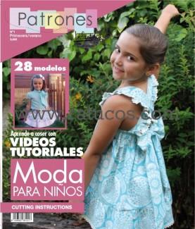 REVISTA PATRONES INFANTILES, Nº1