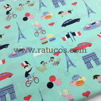 PATCHWORK PARIS MINT