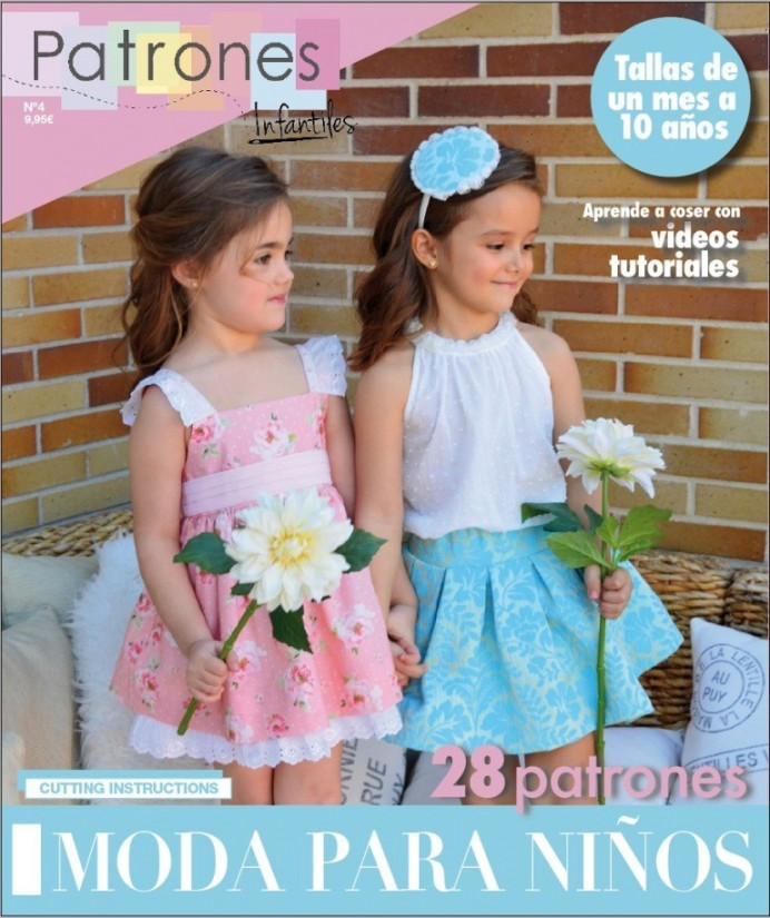 REVISTA PATRONES INFANTILES Nº4 VERANO 2017