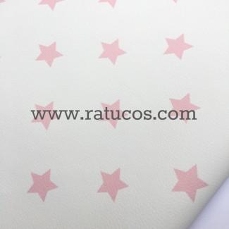 POLIPIEL ESTRELLAS POSITIVO ROSA