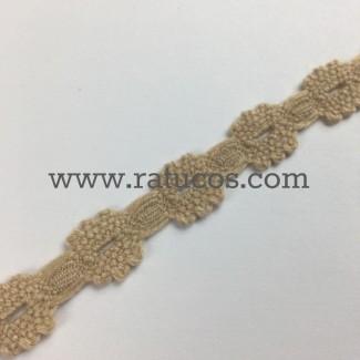 ENTREDOS LANOSO 1.5 cm BEIGE