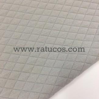 PUNTO SUDADERA JACQUARD GRIS/AMARILLO