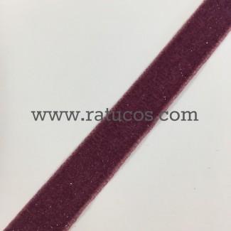 CINTA TERCIOPELO BRILLANTINA 1.6 cm, COLORES