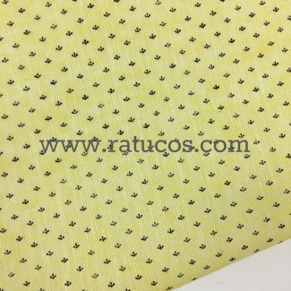 OXFORD AMARILLO ESTAMPADO COLECCION LIS