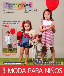 REVISTA PATRONES INFANTILES Nº6 VERANO 2018