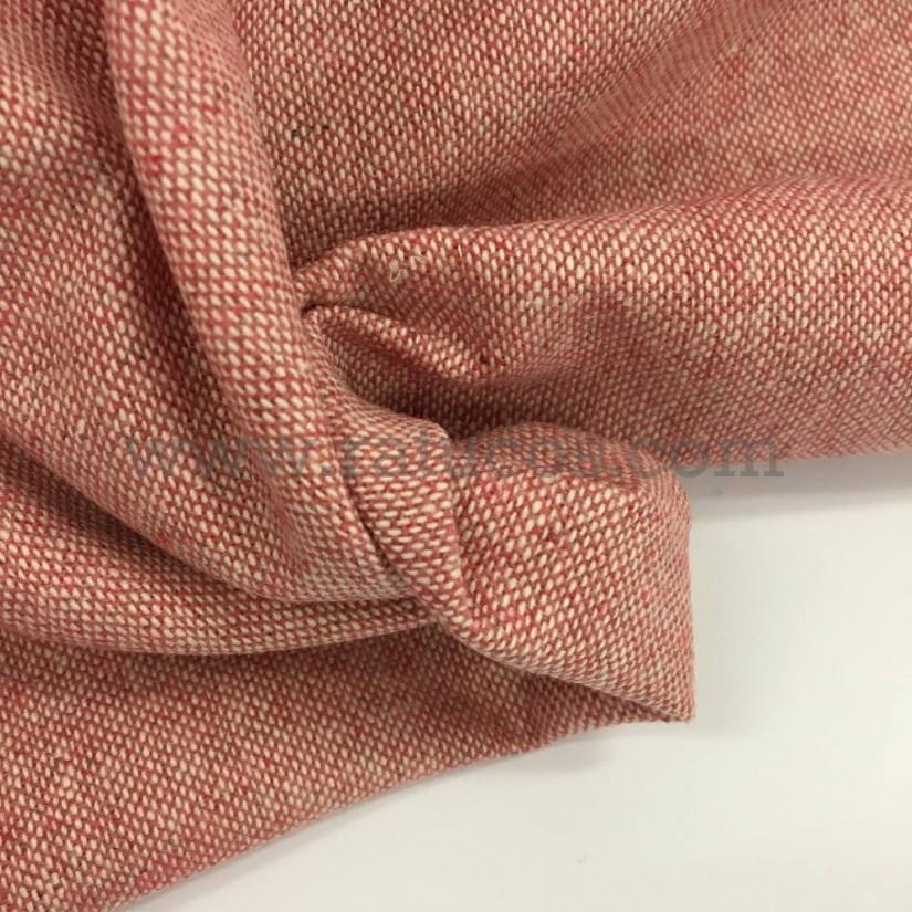 f33cef7ec Tela Cheviot en color rosa.