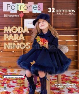 REVISTA PATRONES INFANTILES Nº7 ESPECIAL BEBES 2018
