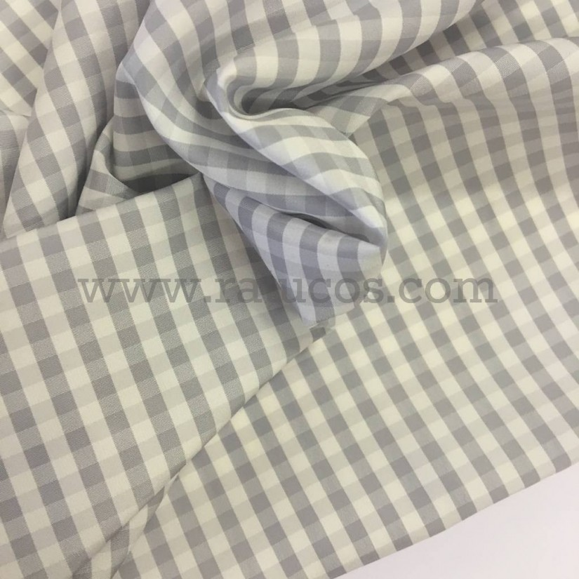 FORRO IMPERMEABLE VICHY GRIS