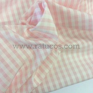 FORRO IMPERMEABLE VICHY ROSA