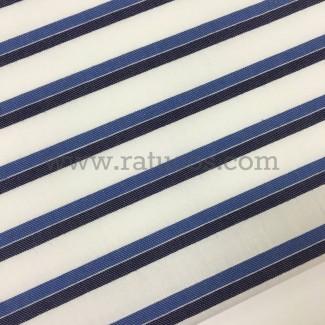 Tela de popelín con rayas. Tela de ancho 160 cm y composición 100% algodón