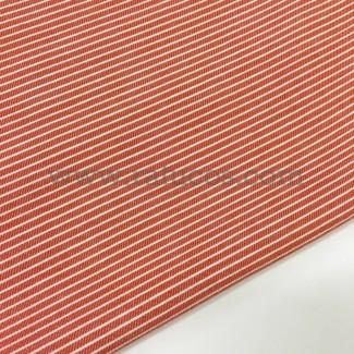 Tejido rayas cotoné. Tela de ancho 150 cm y composición 100 % Algododón