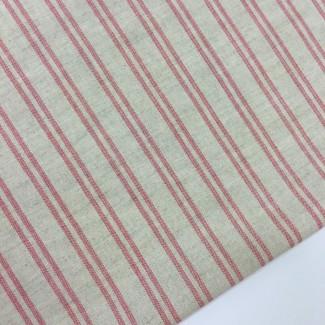 Tela de lino y algodón. Tela de ancho 150 cm.