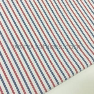 Tela de camisa de rayas. Tela de ancho 150 cm