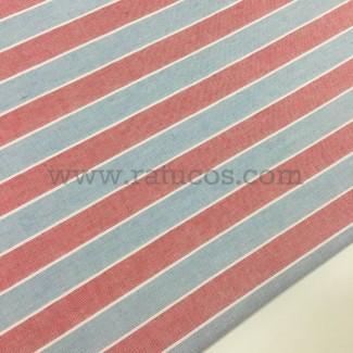 Tela de rayas horizontales
