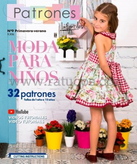 REVISTA PATRONES INFANTILES Nº8 OUTONO 2018