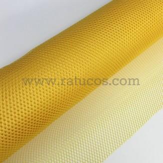 Tela de rejilla Mesh, color amarillo