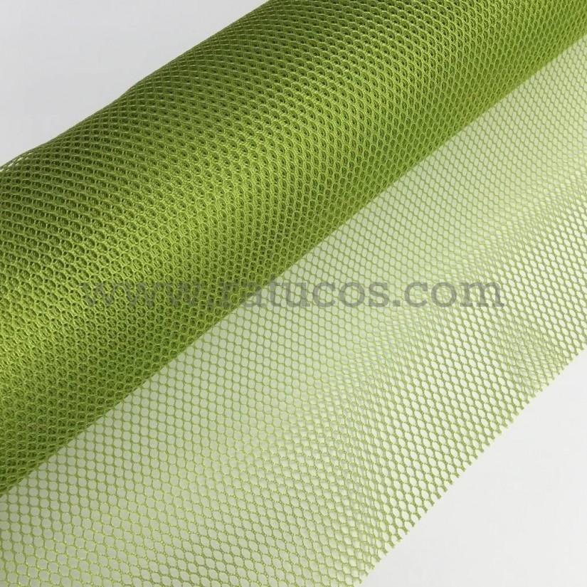0404f5c11 Tela de Rejilla Mesh, color Verde