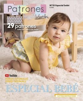 REVISTA PATRONES INFANTILES Nº10 ESPECIAL BEBES 2019