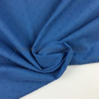 Tela de plumeti de ancho 145 cm y composición 100% algodón