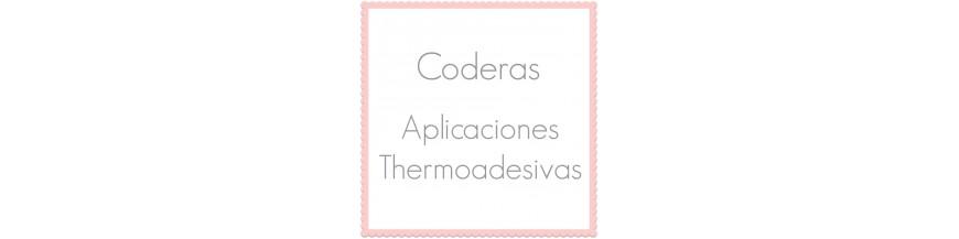 Aplicações termoadesivas para roupas e cotoveleiras