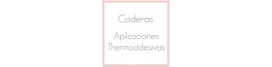Applications thermoadhésives pour vêtements et coudes